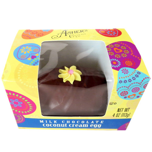 Asher's Coconut Cream Chocolate Easter Egg
