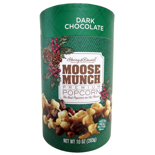 Harry & David Moose Munch Dark Chocolate Canister