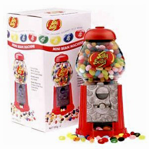 Jelly Belly Mini Bean Machine with Assorted Flavor Jelly Beans